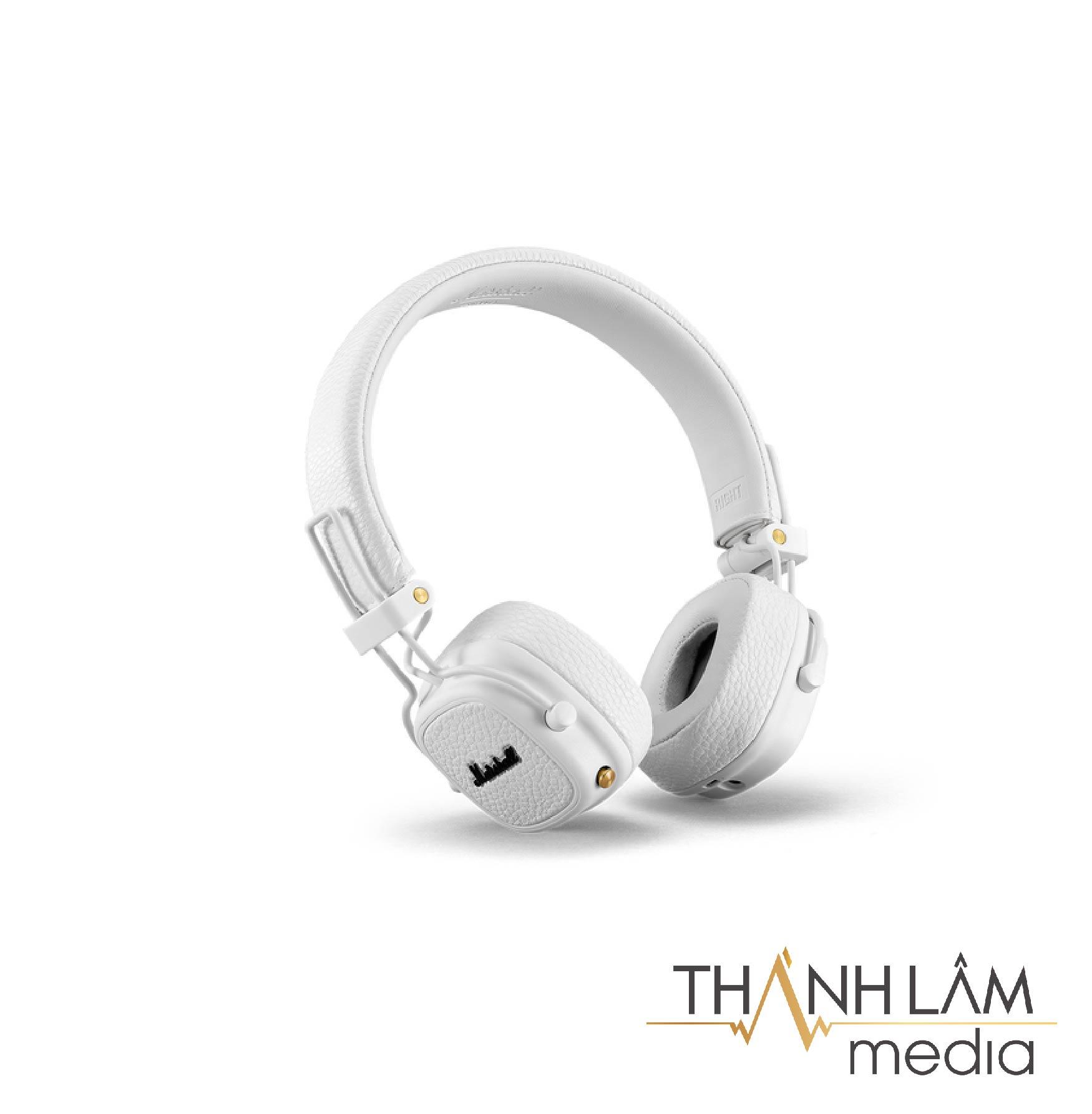 Marshall Major 3 Bluetooth - Tai nghe nhỏ gọn, tiện lợi với dải âm cao tuyệt vời 5