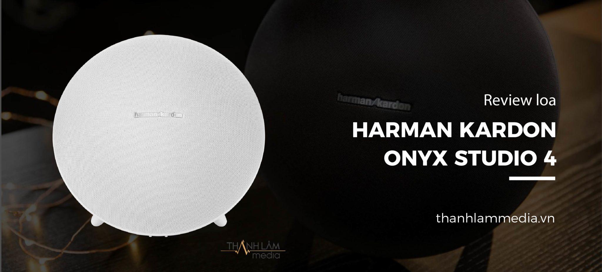 Review đánh giá loa Bluetooth Harman Kardon Onyx Studio 4 1