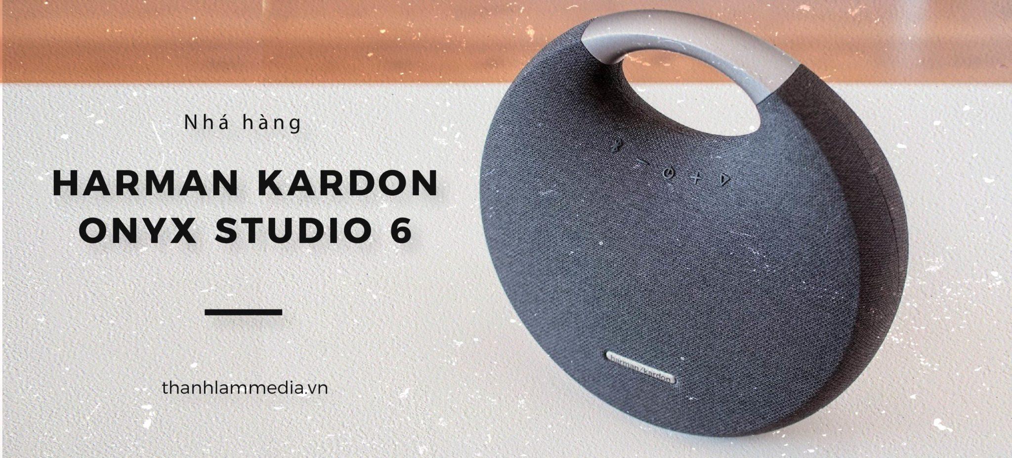 """""""Nhá hàng"""" Harman Kardon Onyx Studio 6 - Phiên bản mới nhất của dòng loa siêu hot nhà HK 1"""
