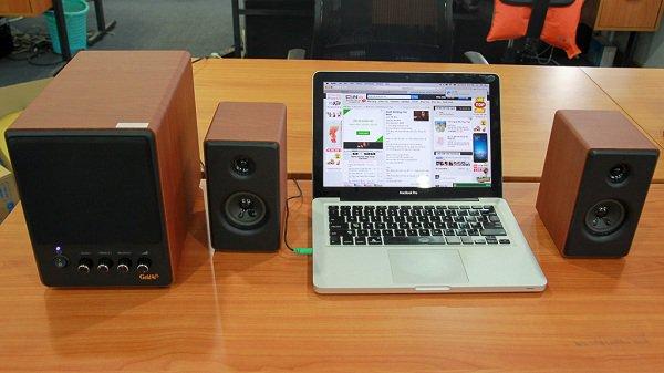 Cách lắp đặt hệ thống âm thanh loa 2.1
