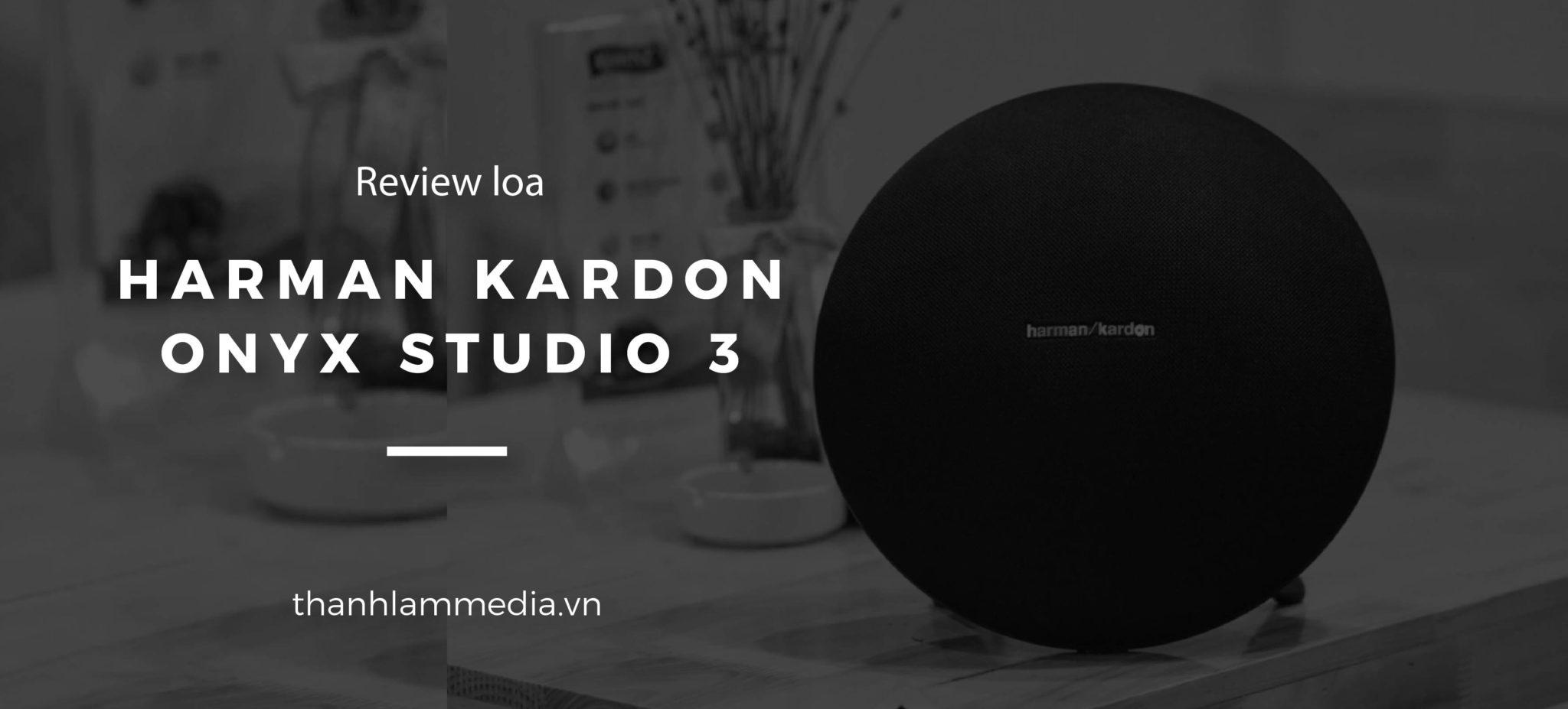 Harman Kardon Onyx Studio 3 - Mẫu mực của phân khúc loa tầm trung 1