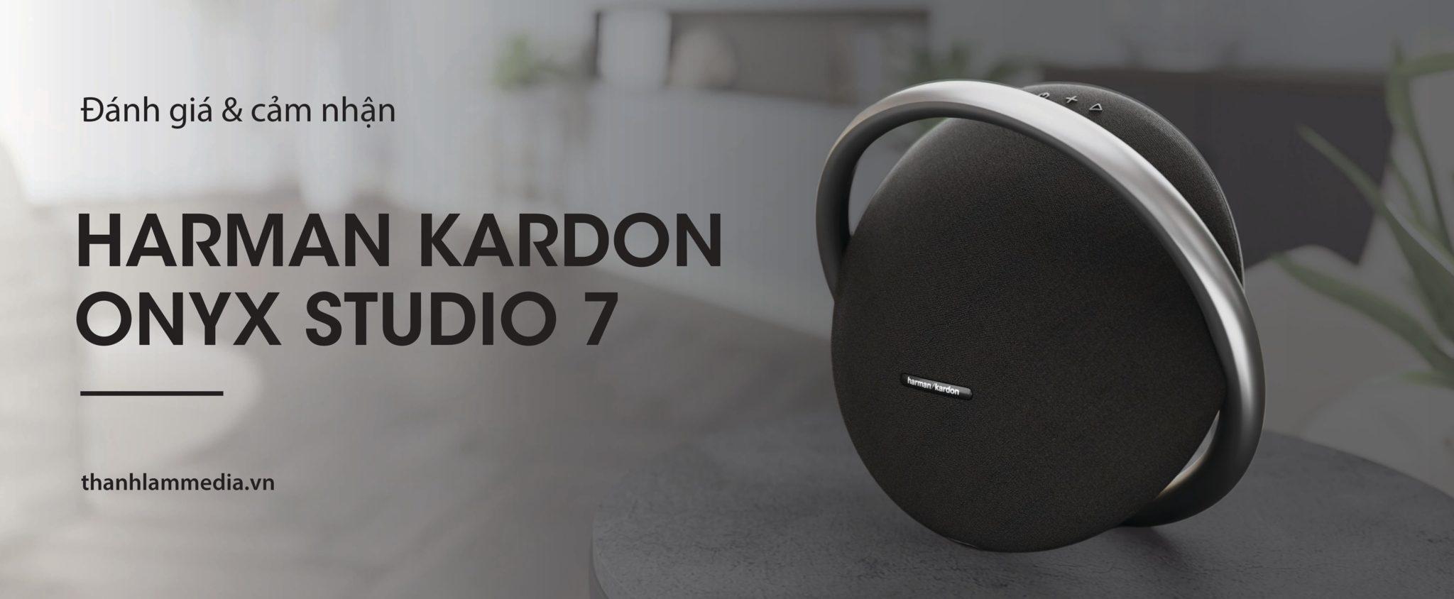 Cận cảnh mẫu loa mới nhất của Harman Kardon - Onyx Studio 7 5